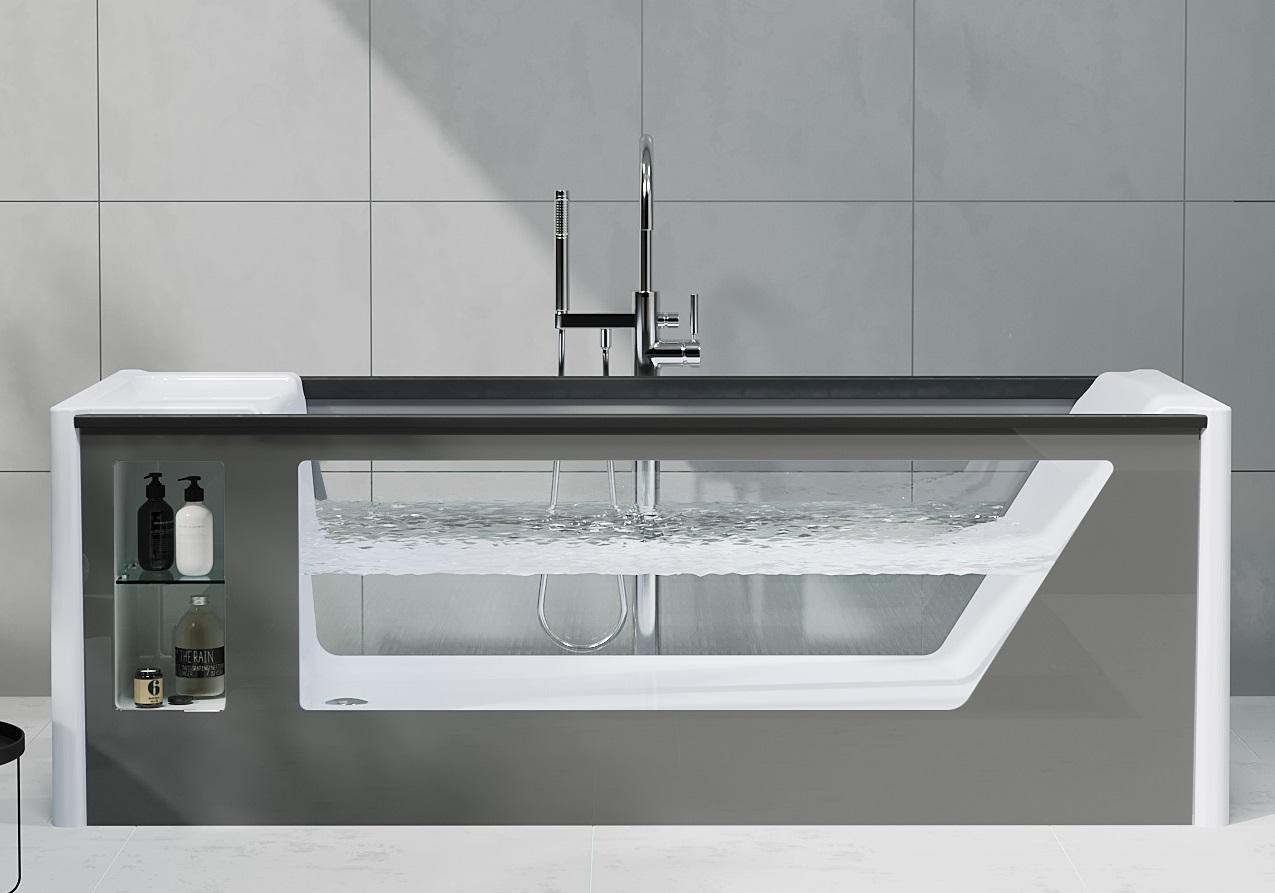 Ванна AIMA Design GENESIS 180x75 - купить в Оренбурге по цене 130 000 Р в интернет-магазине Marka